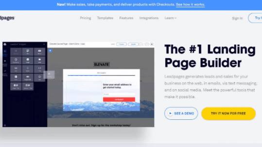 create-landing-pages